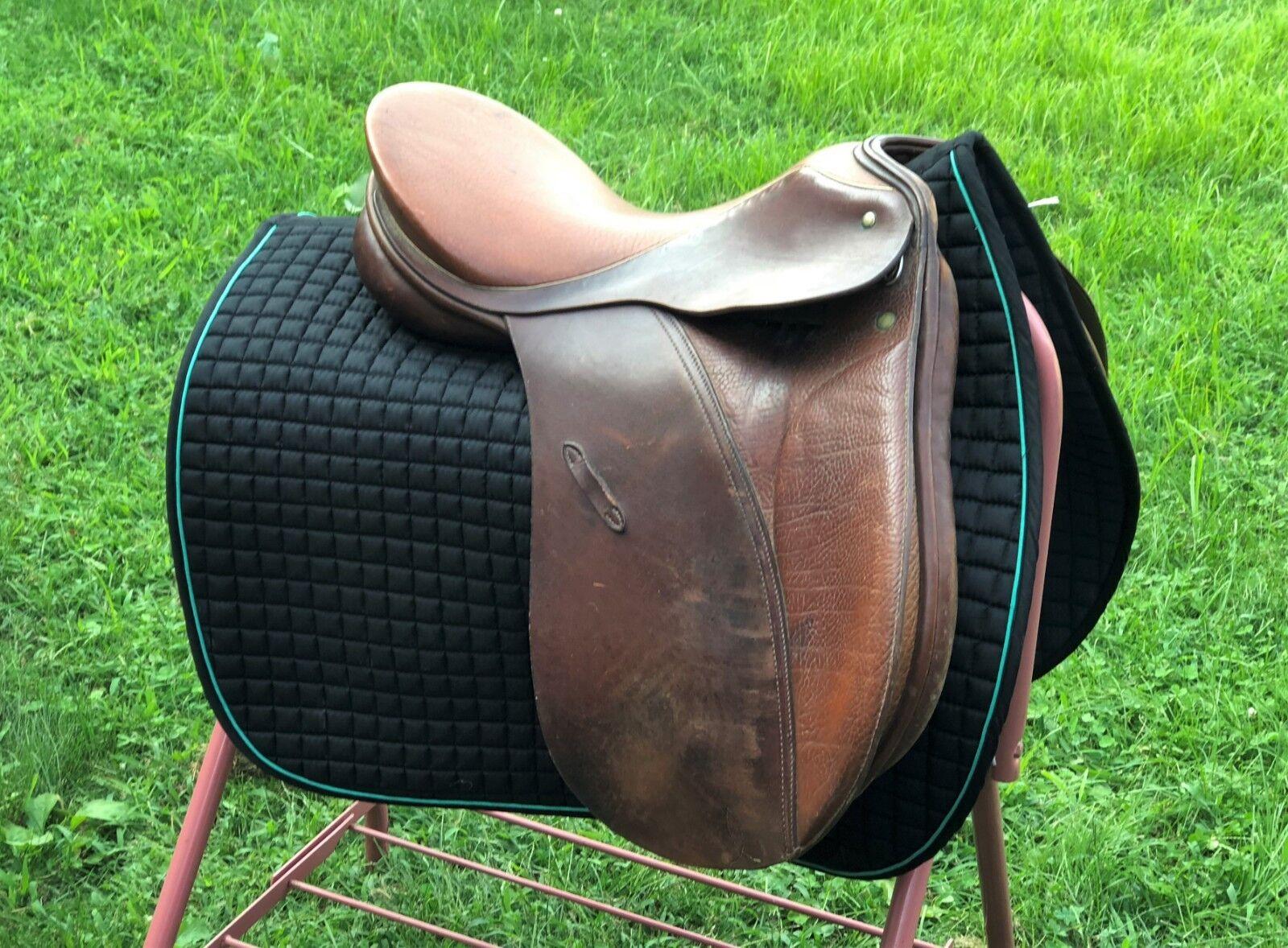 Passier BROWN leather dressage saddle 16    wholesale