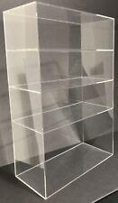 Acrylic Cabinet Counter Top Display Showcase Box 16x8x19 Display Box Acrylic