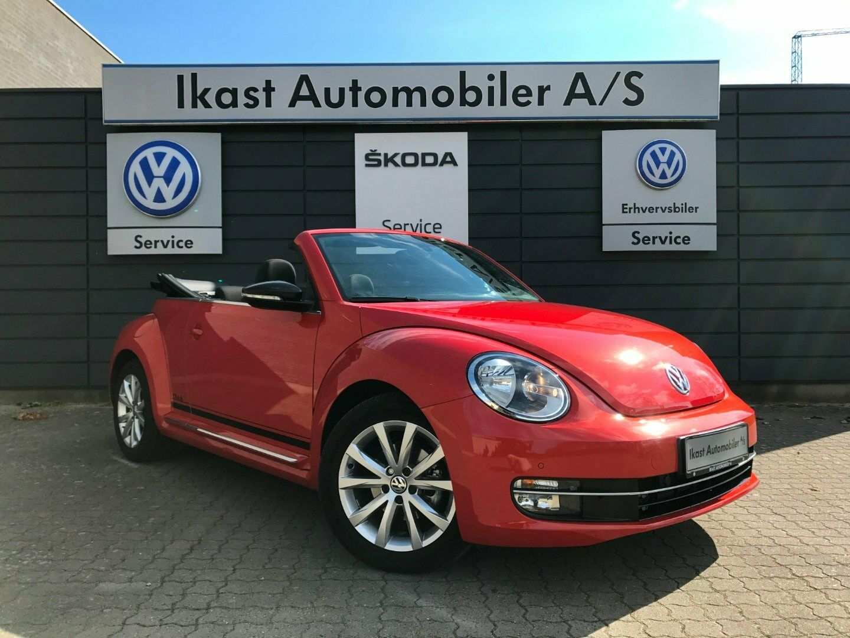 VW The Beetle 1,2 TSi 105 Design Cabriolet DSG 2d