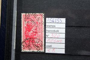 FRANCOBOLLI-ITALIA-REGNO-USATI-N-320-A56253