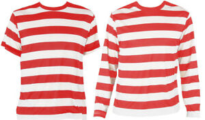 03a360c146f99 Image is loading CHILD-RED-WHITE-STRIPED-T-SHIRT-COTTON-TOP-