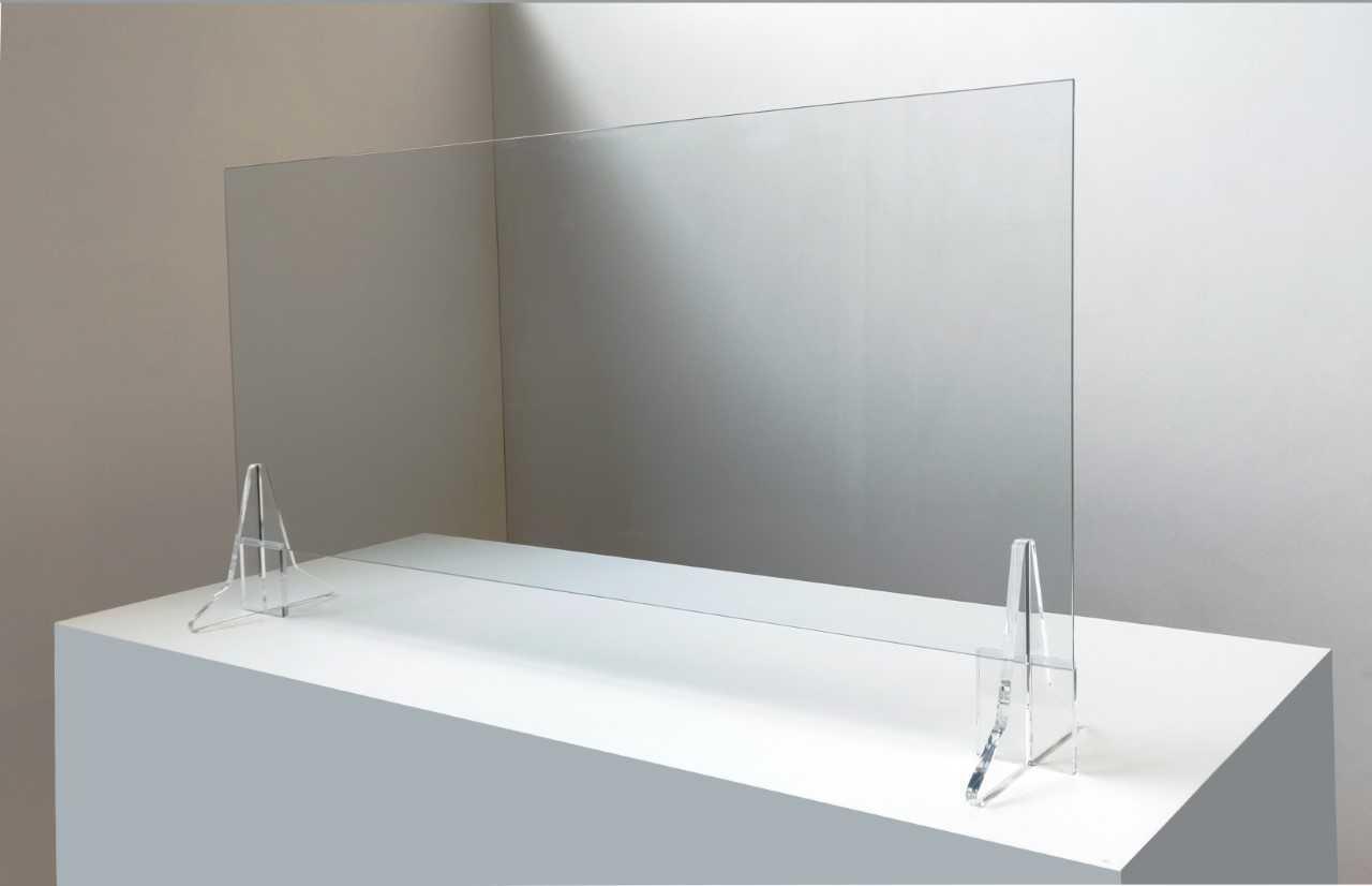 Parafiato parasputi screen plexiglass 70cmx h50 cm.sp.4 mm virus protector