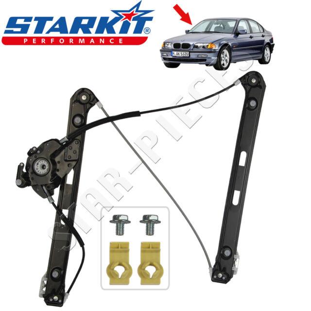 STARKIT PERFORMANCE Meccanismo Alza Vetro Elettrico posteriore destro per BMW Serie 3 E46 dal 1998 al 2005.