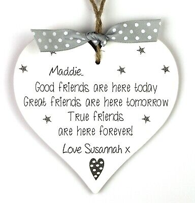 Best Friend Plaque Gift Wall Hanging Sign LBF010 Friendship