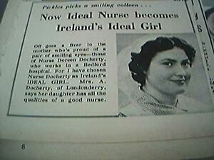 ephemera-1956-nurse-doreen-docherty-bedford-hospital-londonderry