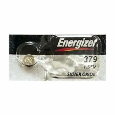 1 ENERGIZER 379 SR521SW SR521 V379 SILVER OXIDE watch battery