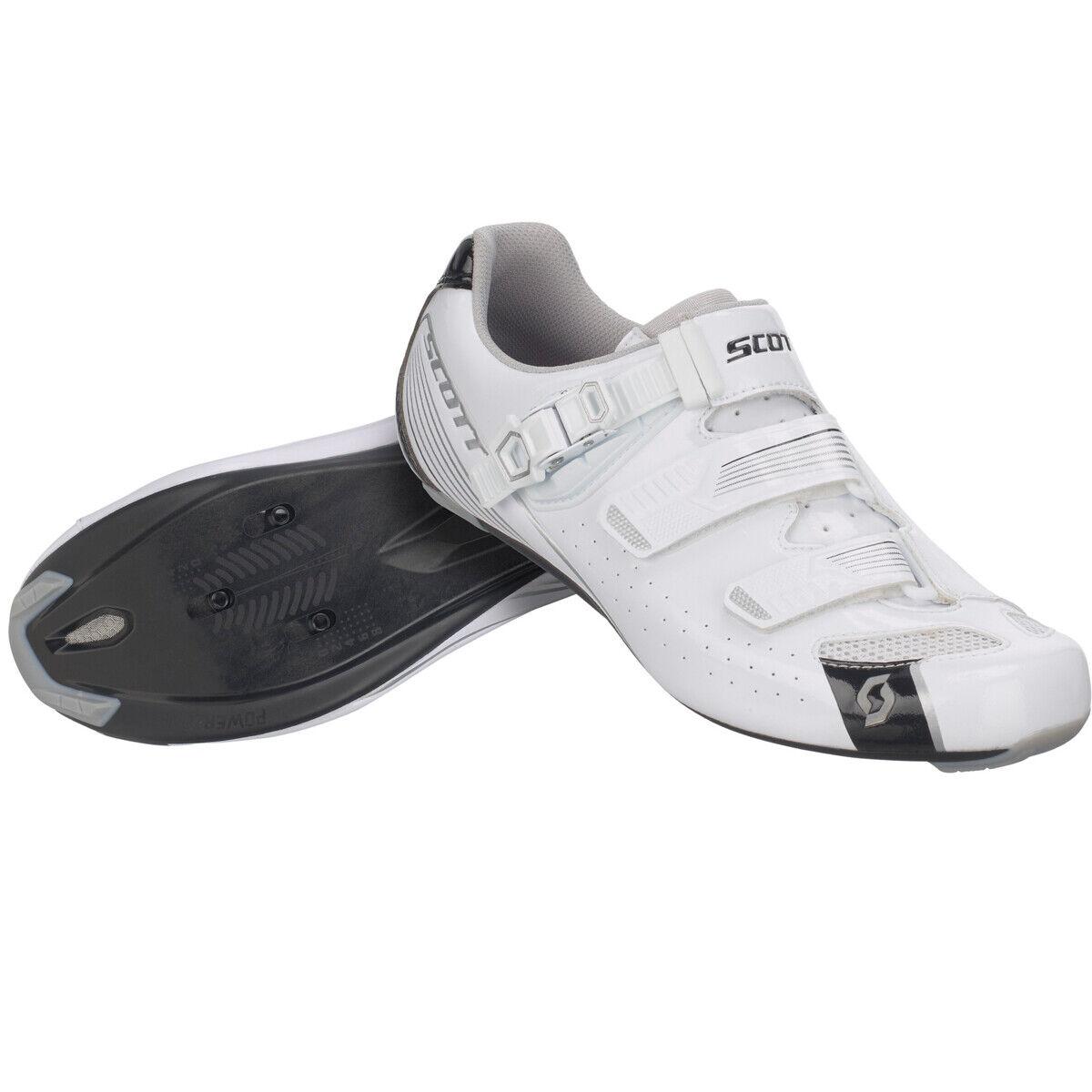 Scott Road Pro Damen Rennrad Fahrrad Schuhe weiß schwarz 2018