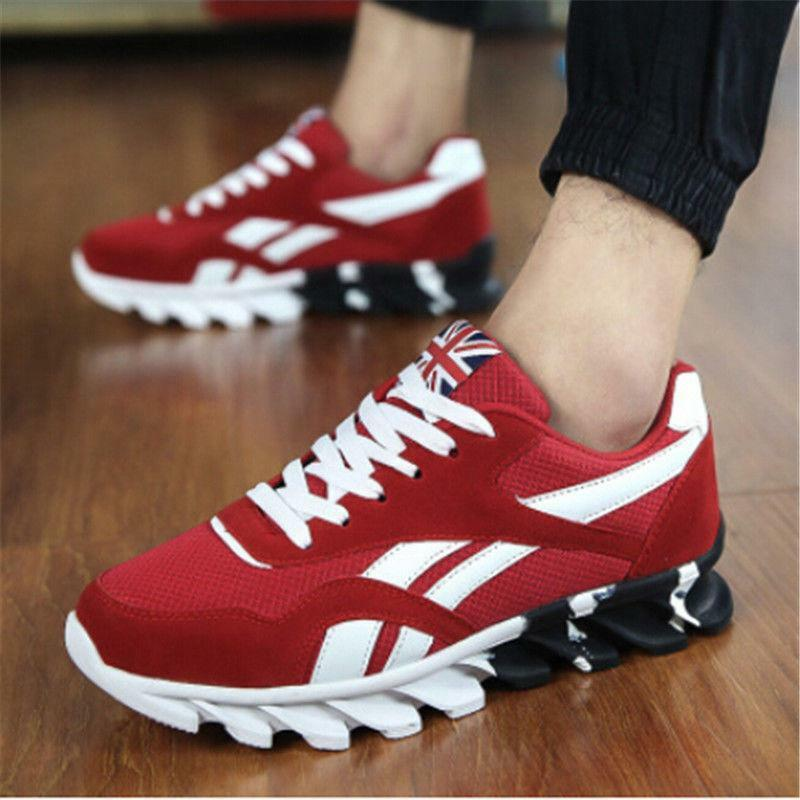 Fashion Men Running Sneakers Breathable Outdoor Sport shoes Athletic shoes 12.5