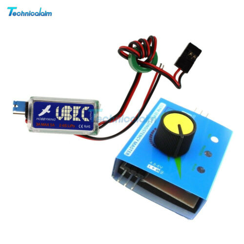 3A Hobbywing UBEC with RF Noise Reduction RC Output BEC Switch Mode For Lipo