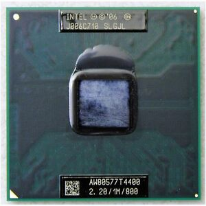 100/% OK SLGF5 Intel Core 2 Duo T6600 2.2 GHz Dual-Core Laptop Processor CPU