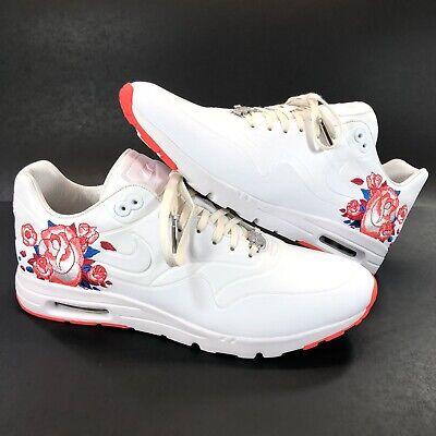 RARE Sample Nike Air Max 1 Ultra SW Serena Williams Size 12 WhiteSilver Lava | eBay