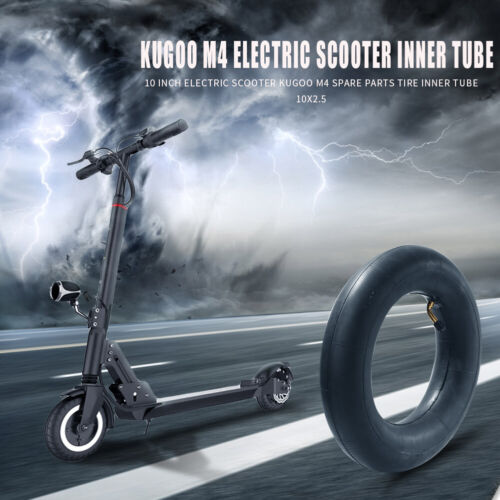 10x2.5 Electric Scooter Thickened Pneumatic Rubber Inner Tube for Kugoo M4