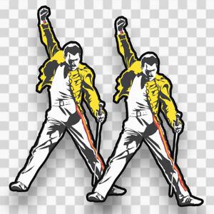 Select Size Freddie Mercury Queen Vynil Car Sticker Decal