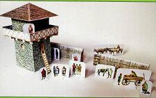 Der römische Limes 1:87 Bastelbogen mit Figuren Kartonmodell zum Ausschneiden
