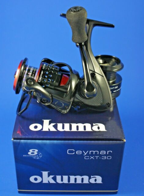 25 40 OKUMA Ceymar XT 10 55 5,0:1 superleichte Spinrolle 65 7+1BB 30