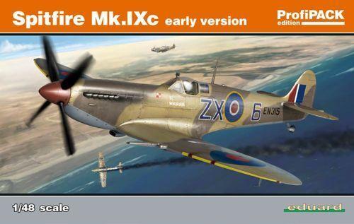 Eduard 1  48 Supermarine Spitfire Mk.IXc Early Version K8282