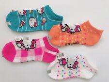 Authentic 5 Hello Kitty in White Snow Socks Toddler Girl Pink Xmas Birthday Gift