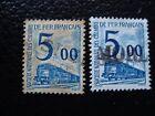 FRANCE - timbre yvert et tellier colis postaux et autres n° 45 x2 obl (A29)