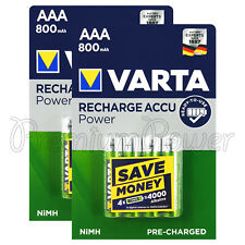 Starmo AAA MN2400 900mAh HR03//1.2V Rechargeable Batteries NiMH Ready To Use