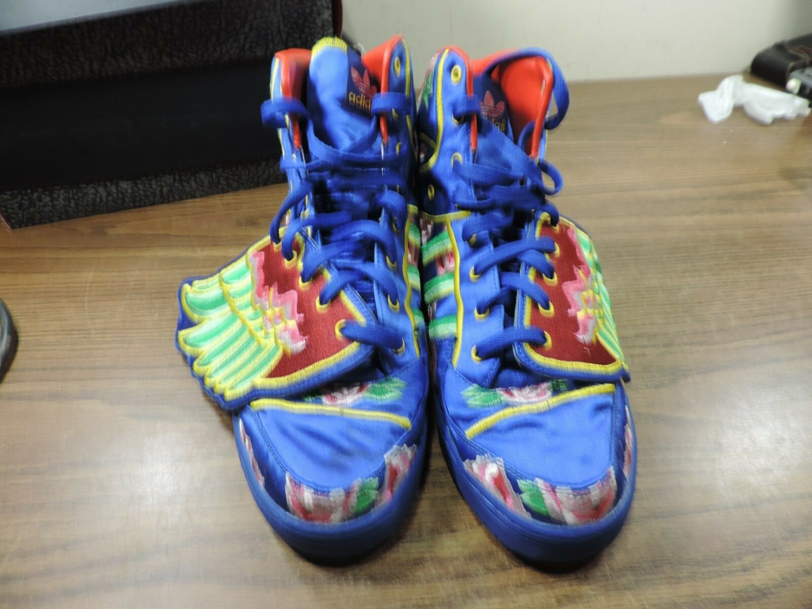 Original Adidas JS WINGS CNY Price reduction Casual Shoe Hi-tops Great discount