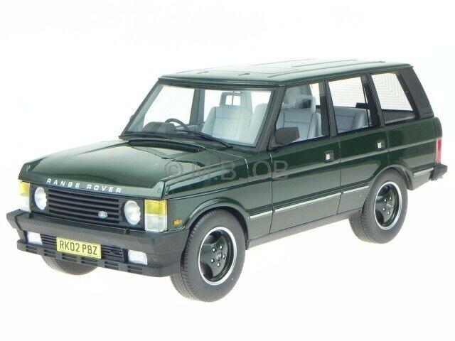 Range Rover series 1 1986 vert véhicule miniature LUC001A LS Collectibles 1 18