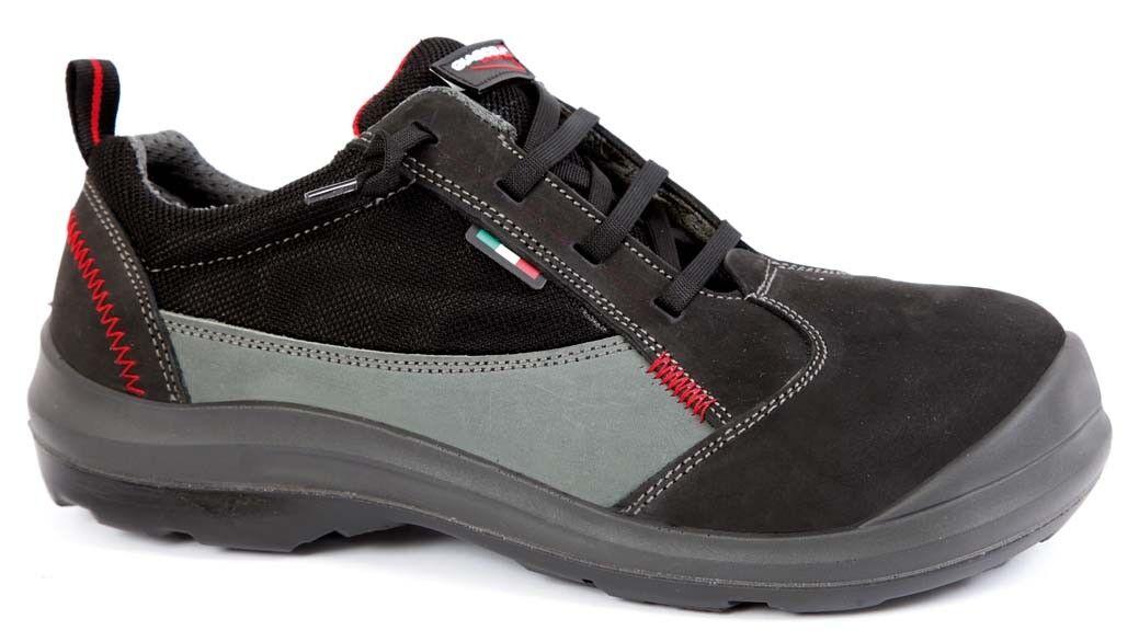 S3 Ci ESD Calzado de Seguridad Brojoa Invierno Zapatos Trabajo Cuero Extra Ancho