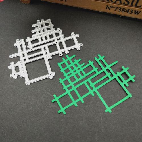 Metal cutting dies cut Irregular net background Scrapbook album paper craft JU