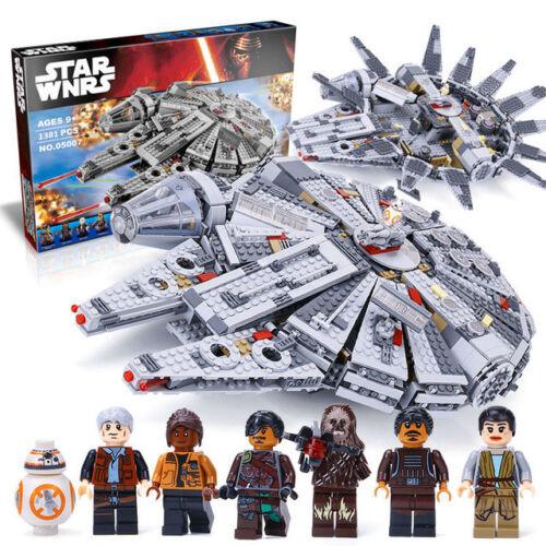 MILLENNIUM FALCON 1381Pcs Star Wars - The Force Awakens - Pls Msg for color box