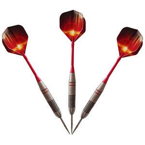 Target-Dart-24g-Steel-Dart-Dartpfeile-Aluminiumwellen-3pcs-Set-Kits-Z0S7
