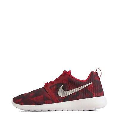 Obbediente Nike Roshe Un Volo Peso Junior Scarpe Da Ginnastica, Rosso/silver- Rendere Le Cose Convenienti Per Le Persone