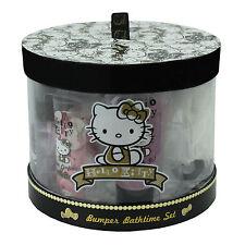 Hello Kitty Bath Gift Set Bumper Ladies Girls Luxury Pamper Toiletries 5 Pieces
