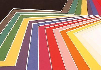 A1 Sheet of Daler Rowney presentation Mount board choose your colours