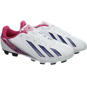 Détails sur Adidas F5 TRX Fg Blanc Rose Noir Femmes ou Enfants Crampons Fußballschu [G96594]
