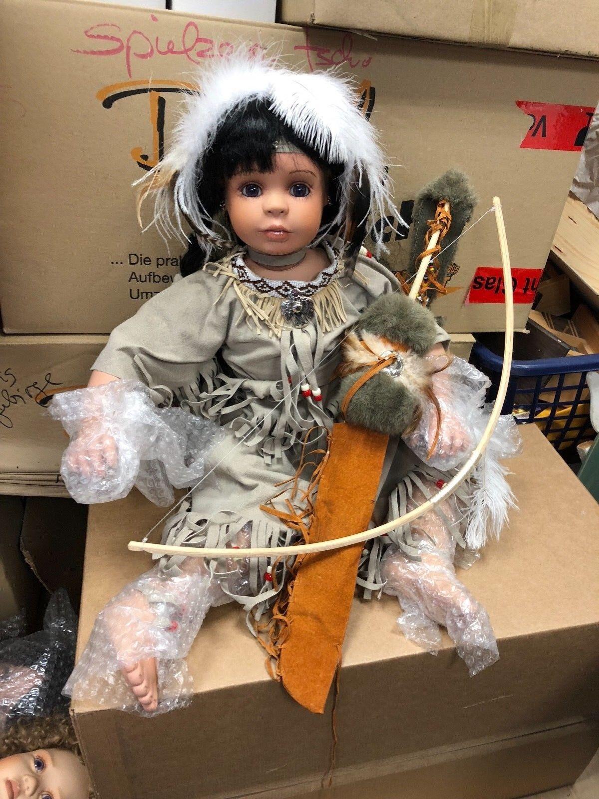 Denise Mc Millan ⭐ ⭐ bambola di  porcellana 72 cm. ⭐ ⭐ ottimo stato  forma unica
