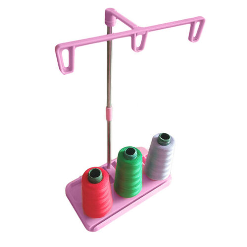 Thread Rack 3 Spool Holder Stand For Household Sewing Machine Multi-color Useful