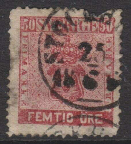 Sweden 185872, 50 ore Deep Lake stamp Used SG 11