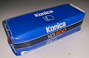 A roll of Konica Super XG 200asa 110 Cart Film, 24 exp, Boxed, exp 07/1996