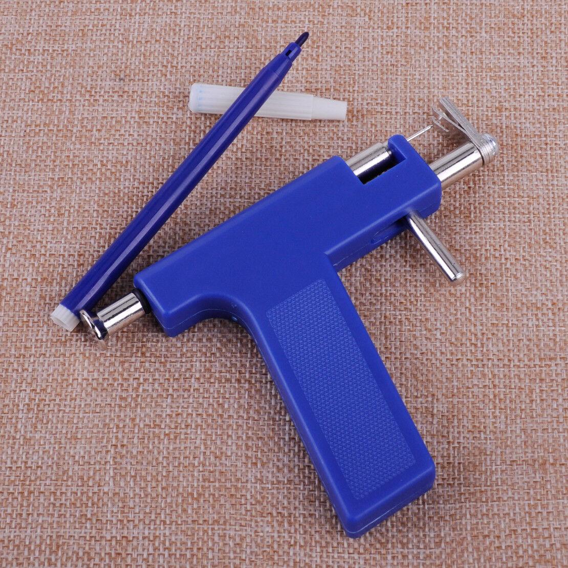 Ohrloch Pistole Ohr Piercing Gun Body Pierce Ohrlochpistole 196x Ohrstecker L