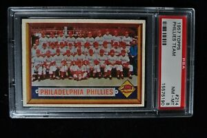 1957-Topps-Phillies-Team-214-PSA-8-NM-MT