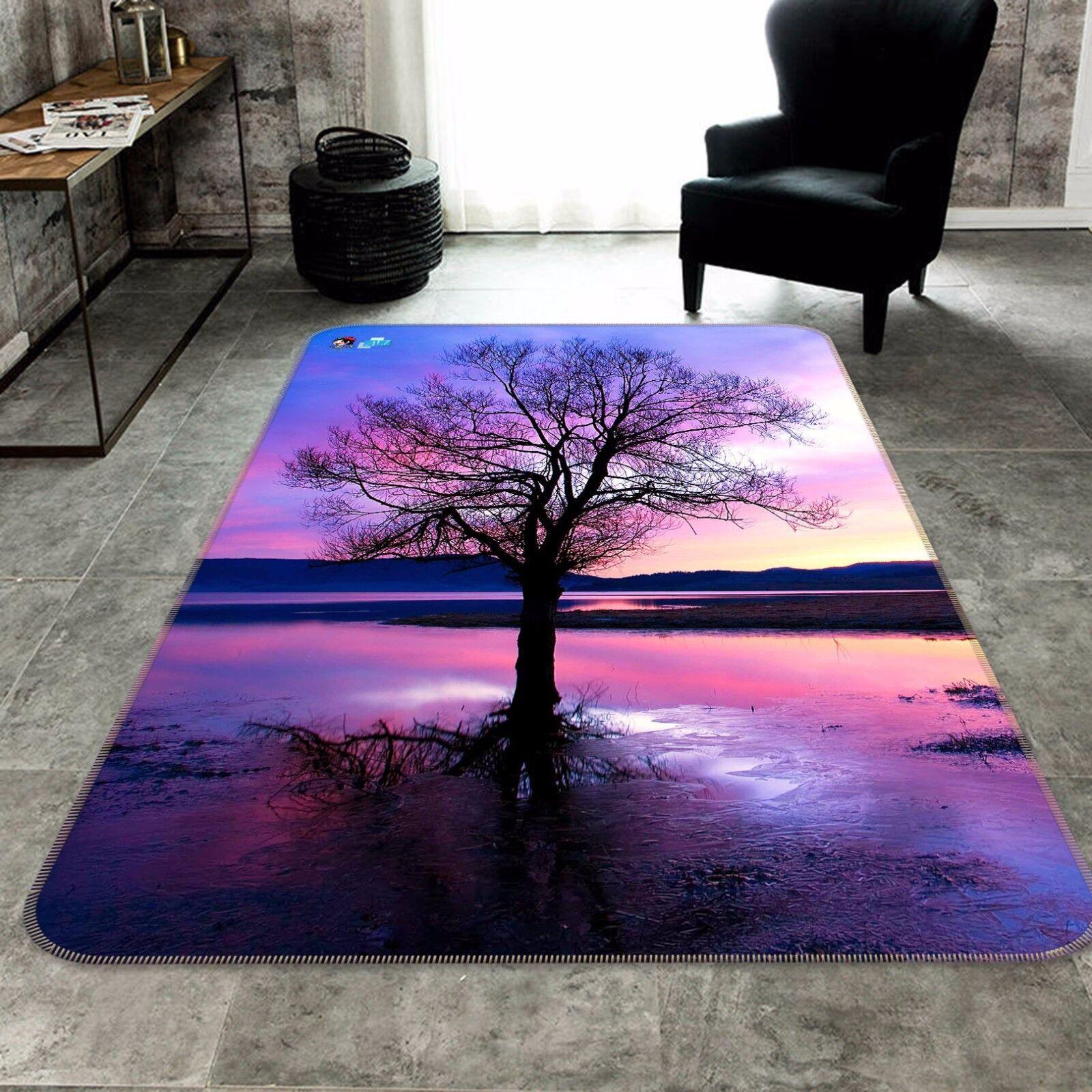 3D Tree Sky 55 Non Slip Rug Mat Room Mat Quality Elegant Photo Carpet AU Summer