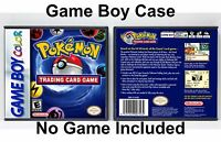 Pokemon Trading Card Game - Game Boy Color Gbc Case - No Game