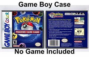 Pokemon Trading Card Game Game Boy Color Gbc Case No Game Ebay
