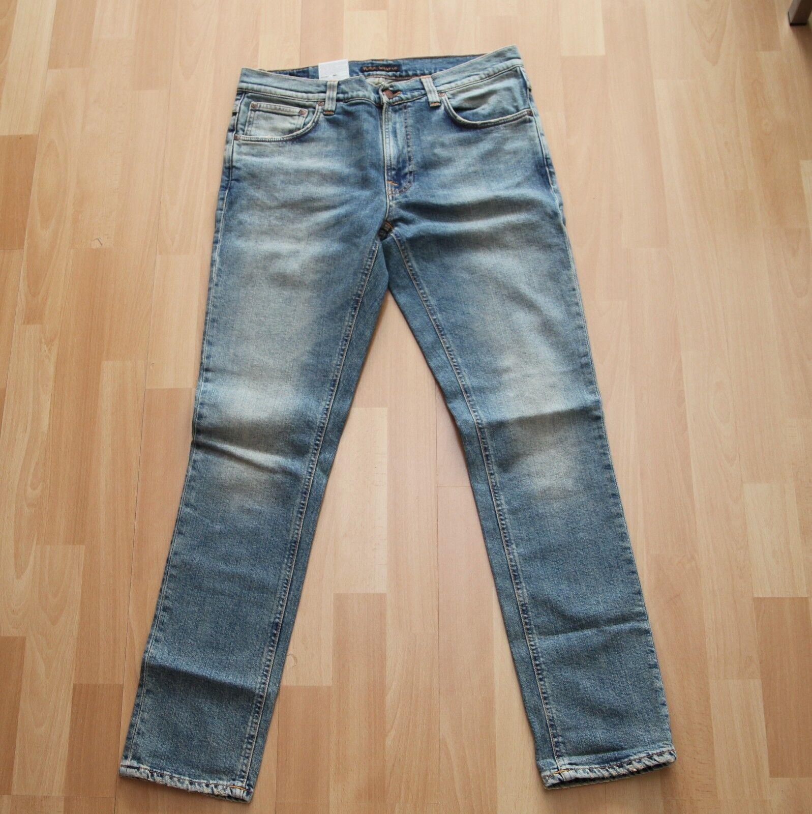 NEU Nudie Jeans Lean Dean (Carrot Shape) Shimmering Comfort 32 32