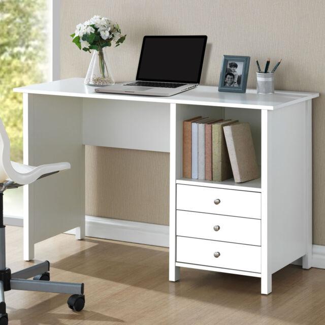 Mainstays Parsons Writing Desk Storage Drawer Indoor