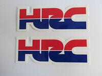 Two Factory Honda Hrc Decals Stickers Motocross Supercross Vintage Jeff Stanton