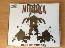 "METALLICA-""HERO OF THE DAY""-4 TRACK LIVE CD SINGLE-MOTORHEAD-BRAND NEW CD(PT 1)"