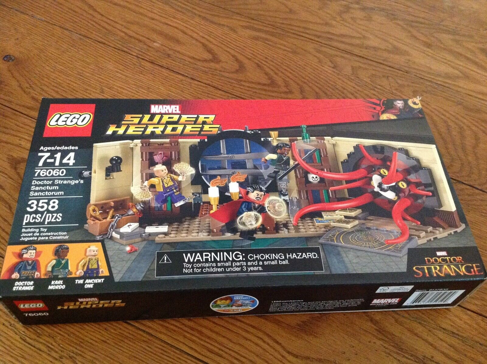 Lego Marvel súper Heroes Doctor Strange's Sanctum Sanctorum 76060 Vengadores