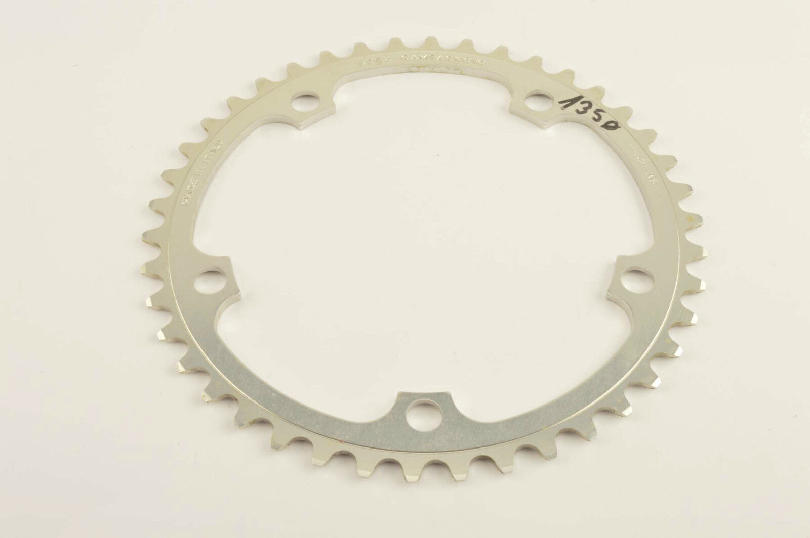 NEW Campagnolo Chainring in 42 teeth teeth teeth and 135 BCD from the 1980s - 90s NOS 7437ec