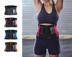 Sport Fitness Bauchweggürtel Abnehmen Schwitzgürtel Schlankgürtel Bauchgürtel