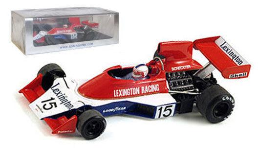 Spark S1733 TYRRELL 007 # 15 sud africaine GP 1976-Ian Scheckter, échelle 1/43, | En Ligne Outlet Store  | De Gagner Une Grande Admiration Et Est Largement Confiance à La Maison Et à L'étranger  | Outlet Store Online